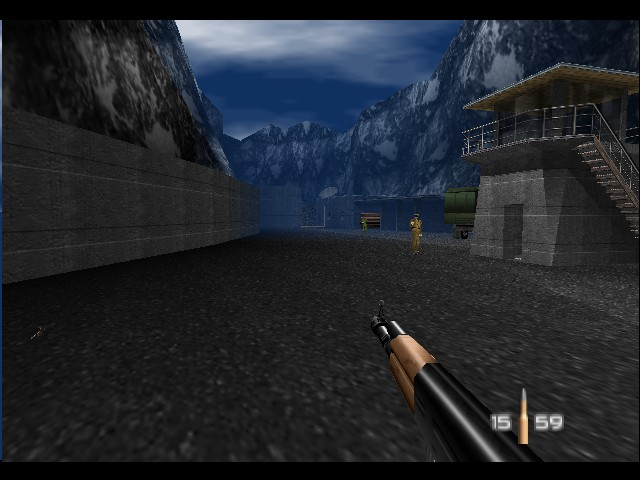 GoldenEye 007 - Level Factory - look at my mighty pencil! - User Screenshot